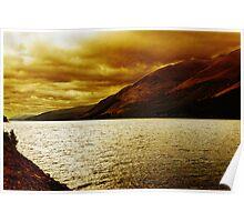 Loch Ness, Scotland, UK Poster