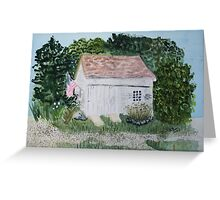 Eastham Old Barn Greeting Card