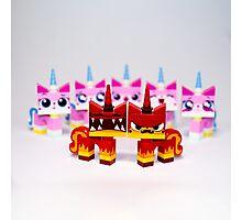 Angry kitties Photographic Print