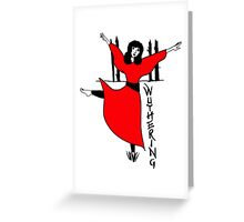 Kate Bush Wuthering Heights Greeting Card