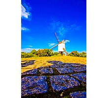 Bruges Windmill Photographic Print