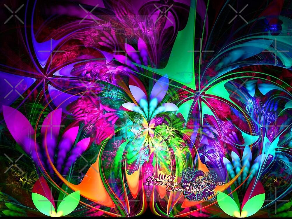 garden of fantasia by LoreLeft27