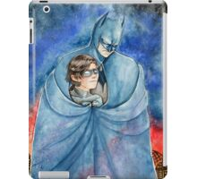 Cold night in Gotham... iPad Case/Skin