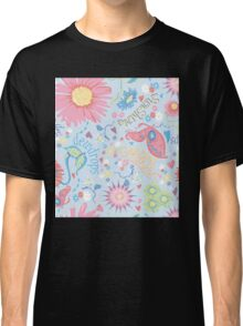 dewdrops in the garden Classic T-Shirt
