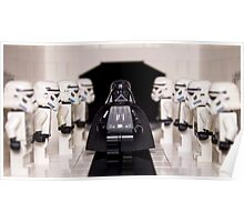 Darth Vader & Stormtroopers Poster