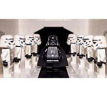 Darth Vader & Stormtroopers Photographic Print