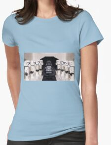 Darth Vader & Stormtroopers Womens Fitted T-Shirt