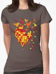 baloon Womens Fitted T-Shirt
