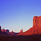 Sunset at Monument Valley by Alex Cassels