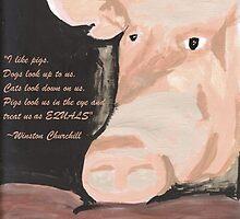 Frau Muscle Quoting Winston Churchill by hopelessmoo