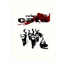 Reservoir Cats Art Print