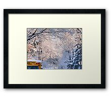 No school today! Framed Print