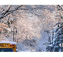 No school today! Photographic Print