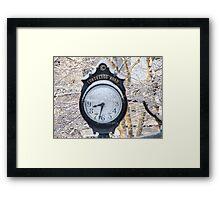 cortelyou clock Framed Print