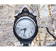 cortelyou clock Photographic Print