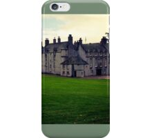 Leith Hall (Huntly, Aberdeenshire, Scotland) iPhone Case/Skin