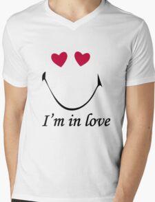In love Mens V-Neck T-Shirt