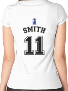 MY Doctor is Matt Smith Women's Fitted Scoop T-Shirt