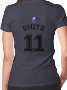 MY Doctor is Matt Smith Women's Fitted V-Neck T-Shirt