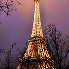 Eiffel Tower by SoulSparrow