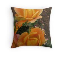Rose Friends Throw Pillow