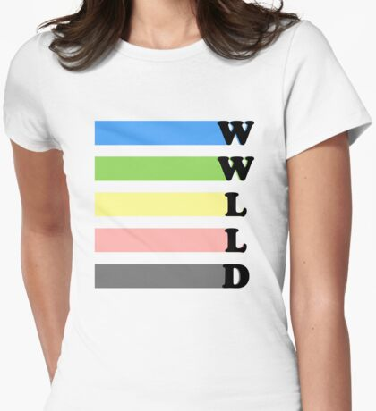 What Would Lucy Liu Do? Womens Fitted T-Shirt