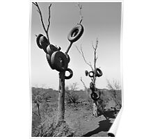Tyred Trees Poster
