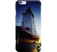 Ludington LIghthouse-Ludington, Michigan iPhone Case/Skin