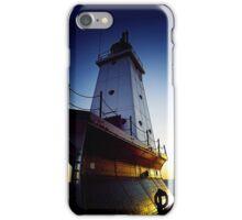 Ludington LIghthouse-Ludington, Michigan iPhone Case/Skin
