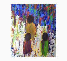Three Children Walking Home Through the Fields Unisex T-Shirt