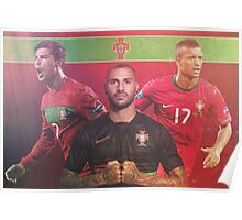 Portugal National Soccer Team Poster Design Poster