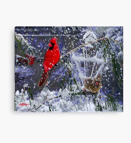 Snowstorm Canvas Print