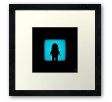 Shadow - Yeti Framed Print