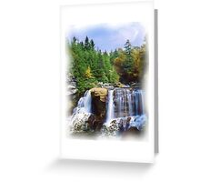 Blackwater Falls, Davis, West Virginia Greeting Card