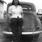 Mom and her car by barnsis