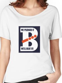 We Pledged It - We'll Beat It - WWII Women's Relaxed Fit T-Shirt