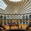 Corn Exchange ~ Leeds City ~ by Sandra Cockayne