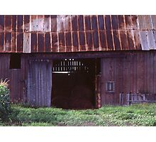 An Old Barn in Michigan Photographic Print
