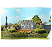 Waterford Village Poster