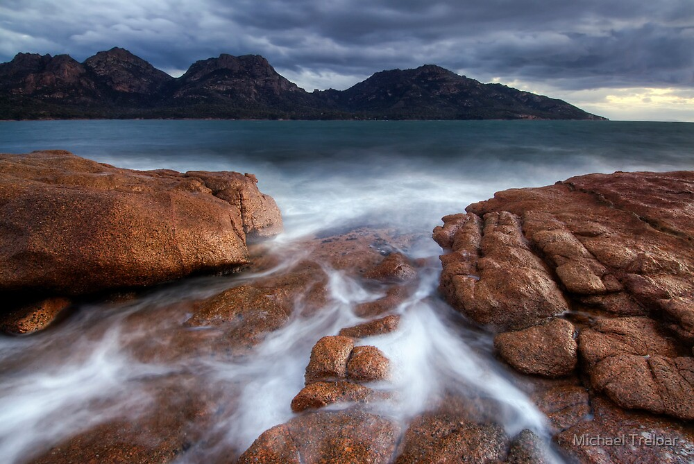 The Hazards, Tasmania by Michael Treloar