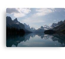 Canadian Rockies by Spirit Island Canvas Print