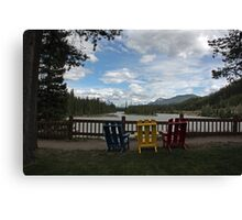 Beckers Riverside View Canvas Print