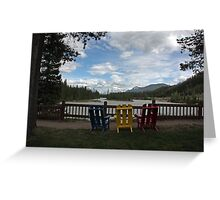 Beckers Riverside View Greeting Card