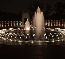 WWII Memorial in DC by Carol Bock