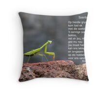 Soenbekkie Throw Pillow