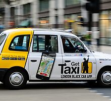 Black Cab by michael-nau
