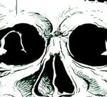 Imperial Death Star Skull Sticker