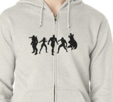 Team Tony Zipped Hoodie