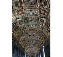 ceiling - italy Photographic Print