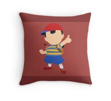 Ness - Super Smash Bros. Throw Pillow